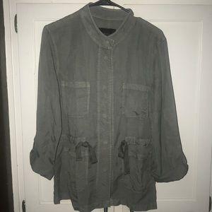 Sanctuary green jacket Size M NWT
